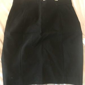 H&M black pencil skirt size 12 never worn